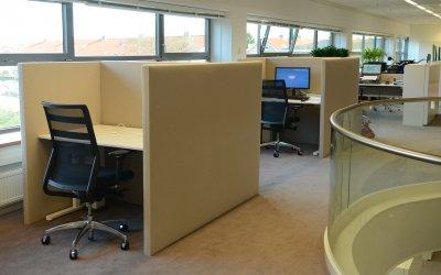 Akoestische Bureaupanelen – Koenen & Co