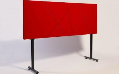 Panelen met elastische koorden